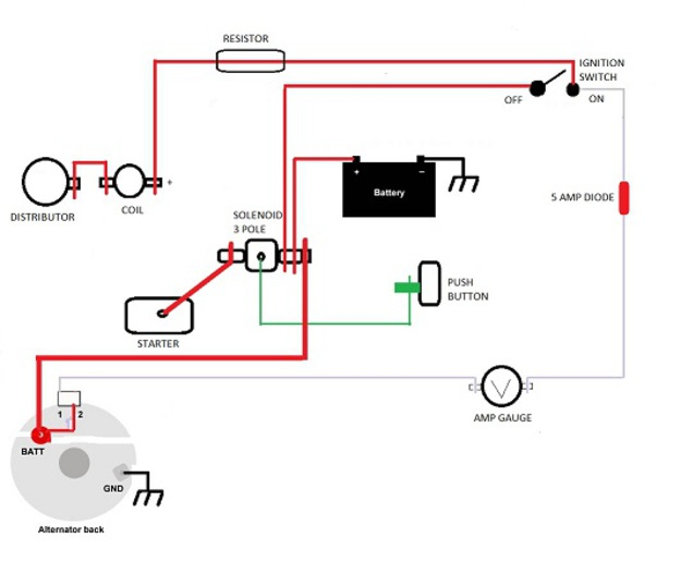 Wiring Diagram How To Wire A Ac Delcoremy 10 On Delco ... on