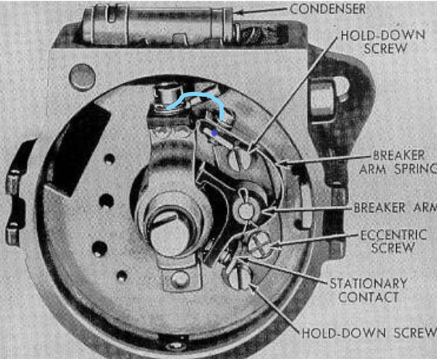 8n ford points distributor wiring diagram post