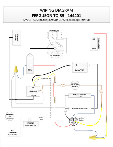 20101 barn find ferguson to35 electric yesterday's tractors ferguson te20 wiring diagram at fashall.co