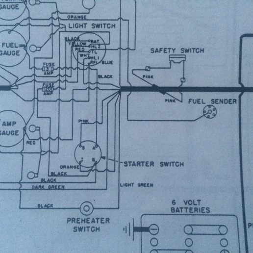 oliver 1850 wiring diagram all wiring diagram IH Super a Wiring Diagram