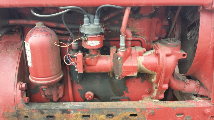 1941 farmall m switch wiring issue