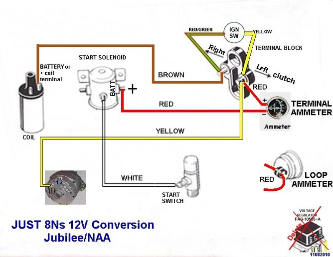 Hqdefault furthermore John Harness Starter Diagram Wire Diagrams Hookup Entrancing Diesel Deere Wiring Instructions Jubilee Battery Pictures Alternator X also V also Db Db Fd C Eea A A A D Dc Ford Tractors Custom Bike likewise Db Db Fd C Eea A A A D Dc. on 8n 12 volt conversion diagram