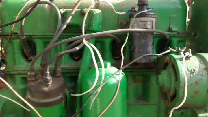 Wiring Harness Diagram For A 1967 4020 Diesel John Deere