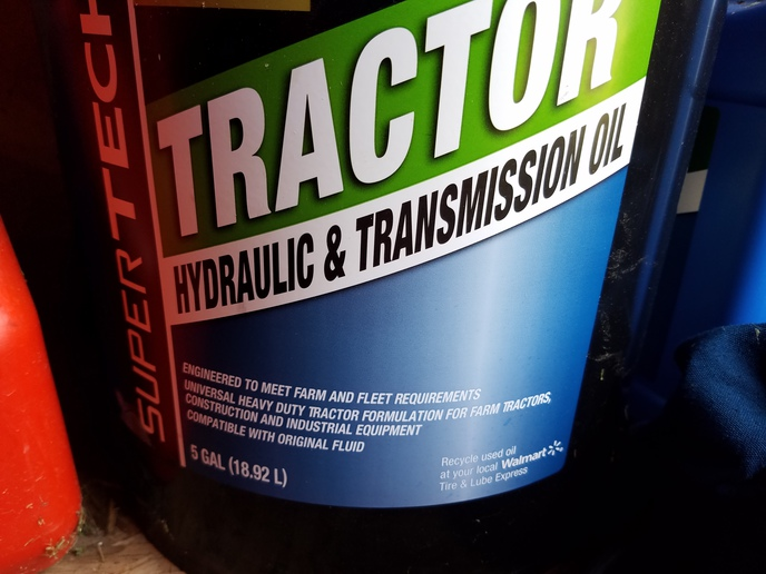 Ford jubilee hydraulic fluid change - Yesterday's Tractors