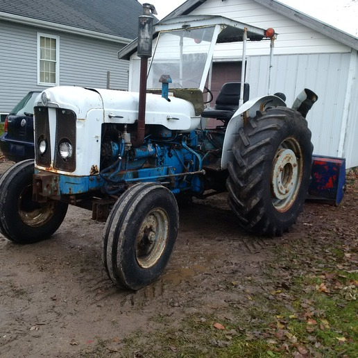 64 Ford 5000 Super Major hours? - Yesterday's Tractors
