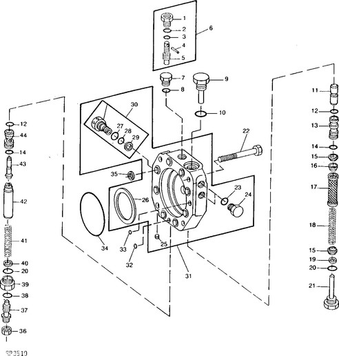 john deere 2040 wiring diagram hard to start diesel 1975 john deere 4030 - john deere ... #6