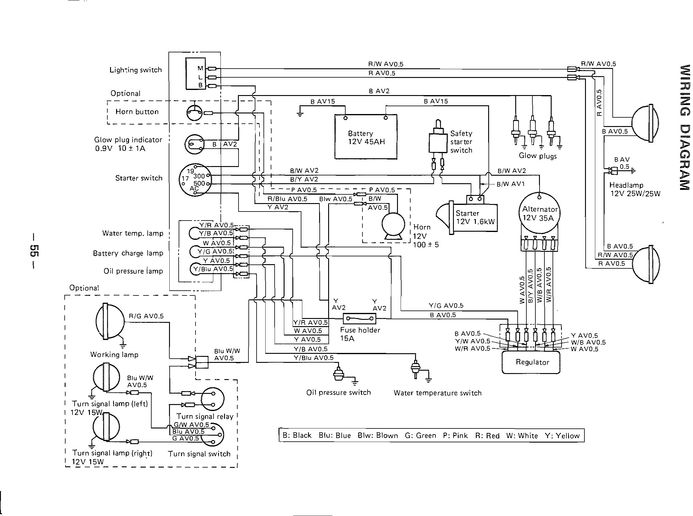 massey ferguson 205-4 wiring circuit diagram
