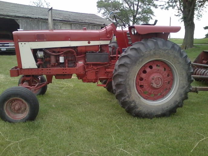 New guy here - Farmall 706 sel - Yesterday's Tractors Farmall Tractor Wiring Diagram D on