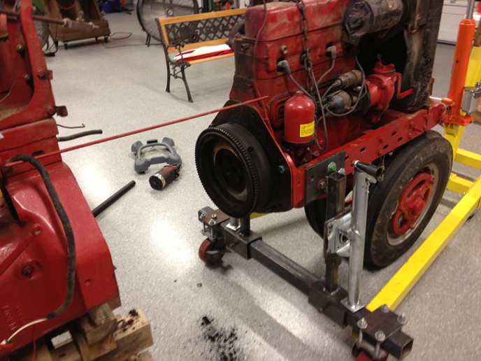 farmall h engine removal farmall international
