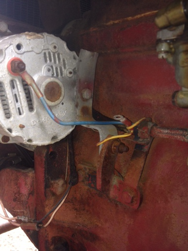 wiring on a farmall 140 12v conver yesterday\u0027s tractors Farmall H Wiring Diagram Conversion