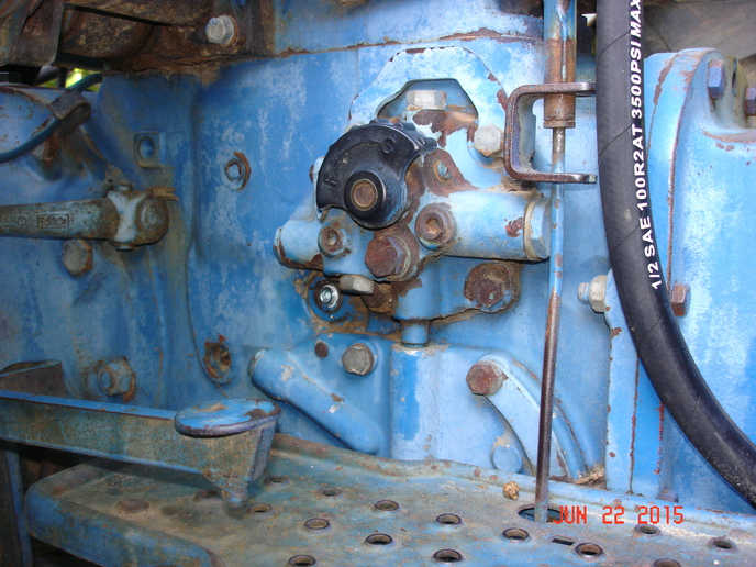 ford  rear axle oil level yesterdays tractors