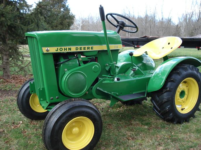 John Deere 110 Parts : John deere garden tractor parts ftempo