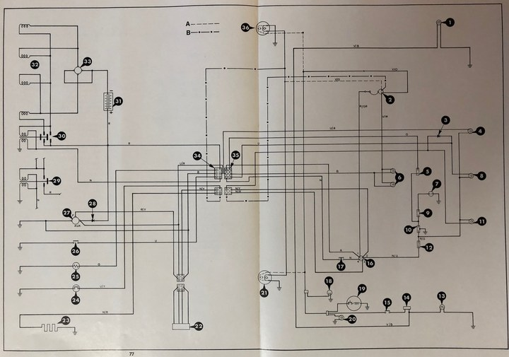 Printable Diesel Wiring Diagram 2600  3600  4100  U0026 4600