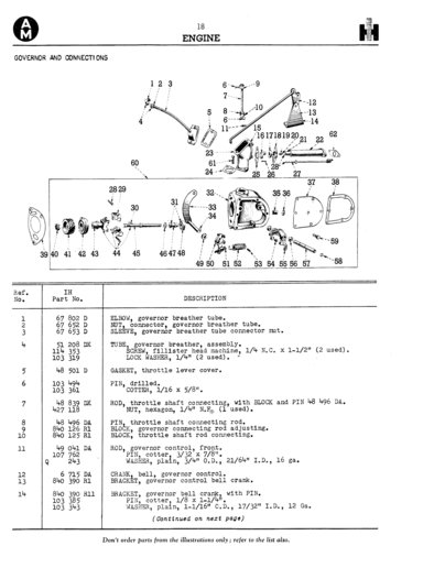 farmall m throttle and steering - farmall & international ... international farmall m wiring diagram farmall m steering diagram